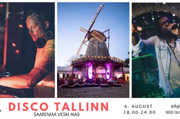 Disco Tallinn – James Werts live I 06.08