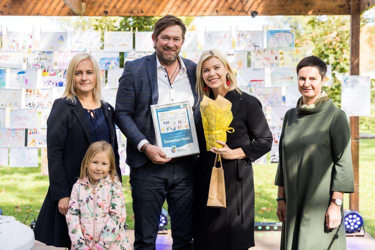 Eesti Lasterikaste Perede Liidu tunnustus